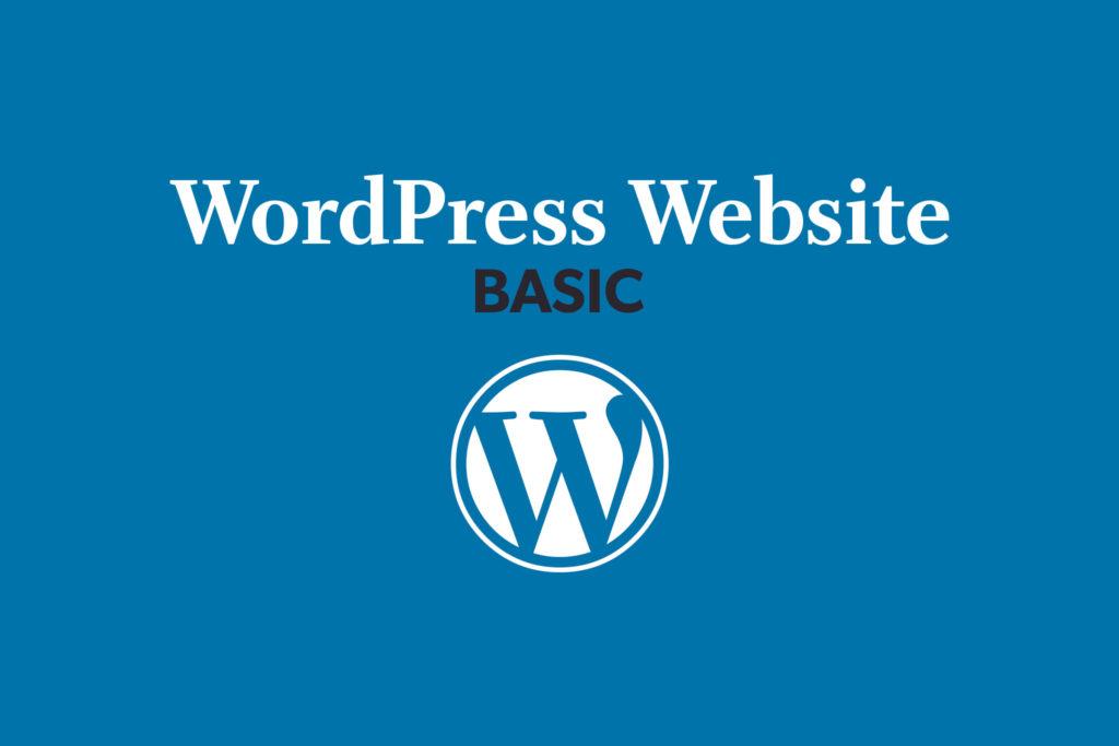 WordPress Website – Basic